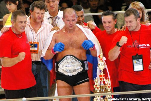 Bellator 269 weigh-in results: Fedor Emelianenko gives up 33 pounds to Tim Johnson