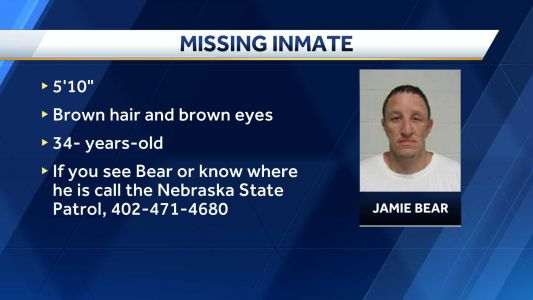 Inmate never returned to Community Correction Center- Lincoln