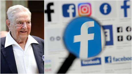 Third time's the charm? Soros AGAIN accuses Facebook of helping Trump re-election, demands Zuckerberg & Sandberg exit