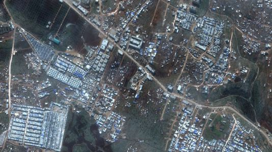 Satellite Photos Show Rapid Growth Of Syrian Refugee Camps