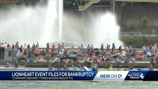 Company hired to organize Three Rivers Regatta files for bankruptcy