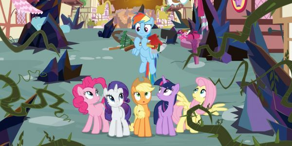 An upcoming episode of 'My Little Pony: Friendship Is Magic' will feature a lesbian couple, and some Christian 'Bronies' are upset about it