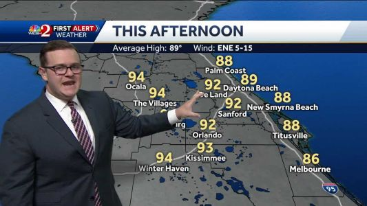 Forecast really heating up for the holiday weekend