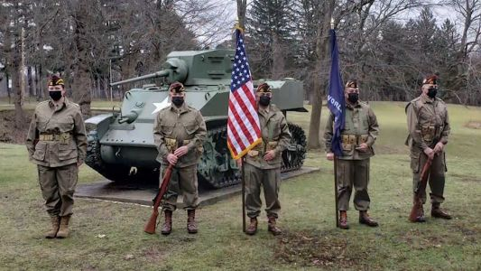 Mass. VFW Honor Guard to participate in virtual Inauguration Day parade