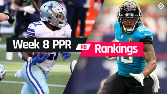 Fantasy RB PPR Rankings Week 8: Who to start, sit at running back in fantasy football