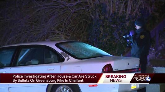 Police investigating after house, car struck by bullets in Chalfant