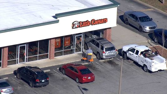 SUV crashes into Little Caesars in southwest Louisville
