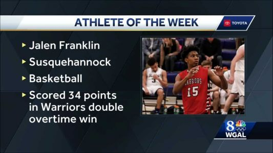 WGAL's Athlete of the Week
