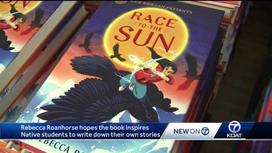 Native New Mexican writes popular superhero Navajo folklore book