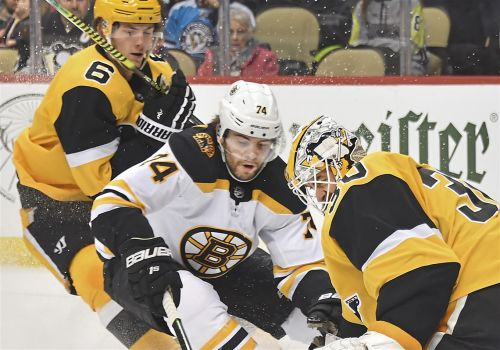 Penguins deliver 4-3 win against Boston Bruins