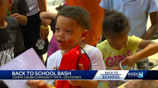 1,000 DSM kids get free supplies at Back to School Bash
