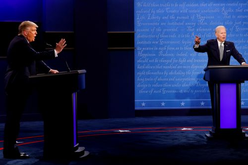 Commission will mute mics during final debate between Trump and Biden