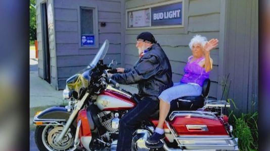 103-year-old woman celebrates birthday with first tattoo, first motorcycle ride