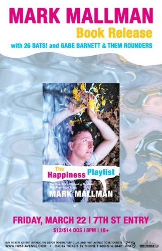 Mark Mallman Book Release At First Avenue