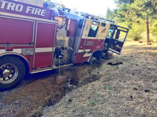 Suspects lead northern California authorities on hours-long chase with stolen fire truck