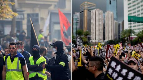 West's news dominated by Hong Kong while Yellow Vests largely ignored - Pilger