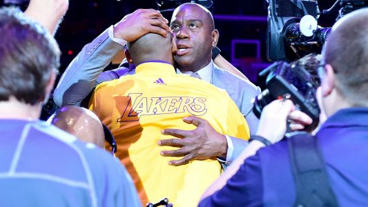 Magic Johnson shares heartfelt message after Kobe Bryant's death: 'Greatest Laker of all time is gone'