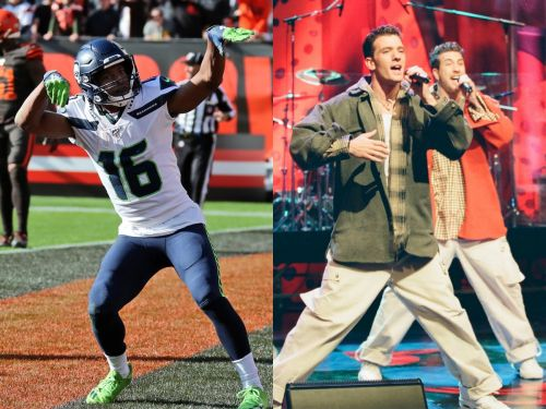 Seattle Seahawks players celebrated a touchdown with the iconic dance from NSYNC's 'Bye Bye Bye,' and the band approves