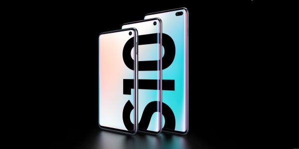 These are the new Galaxy S10 and Galaxy S10 Plus smartphones from Samsung