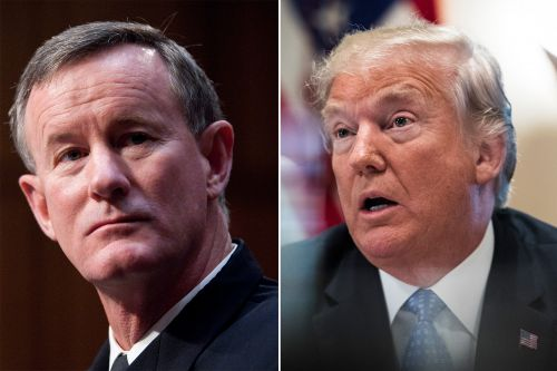 Trump brushes off McRaven jabs after yanking ex-CIA chief's clearance
