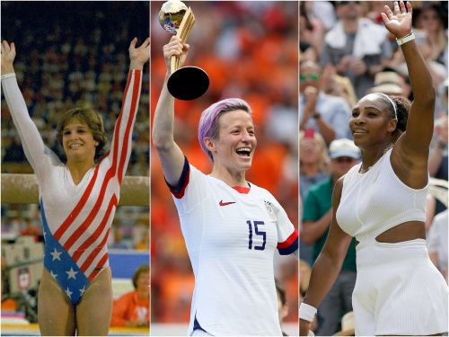 The 36 most iconic female athletes of the past century