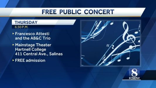 World renowned pianist gives free concert to Salinas kids