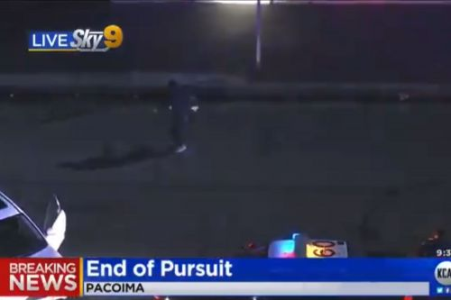 Suspect breaks into dance routine after California police chase
