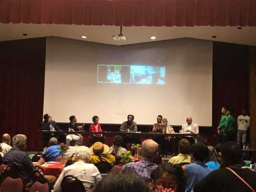 Juneteenth celebration of athletes in New Mexico