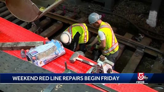 Red Line, you're next: MBTA to start series of weekend shutdowns for work