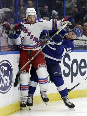 Rangers' Shattenkirk out 2-4 weeks with shoulder injury