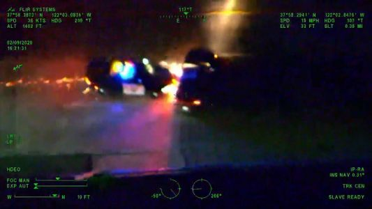 Wild NorCal chase caught on camera by CHP