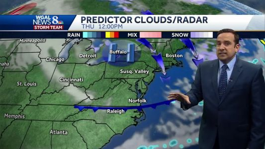 Chilly & Blustery Tuesday; Record Cold Possible For Thanksgiving