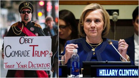 Hillary Clinton cooked up Russiagate to smear Trump & distract from her own scandals, declassified docs suggest