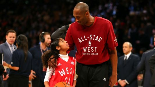 Kobe Bryant's daughter Gianna brought out the best side of her father