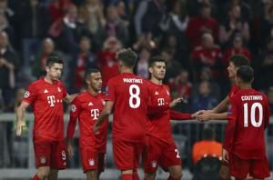 Bayern beats Red Star 3-0 to open Champions League campaign