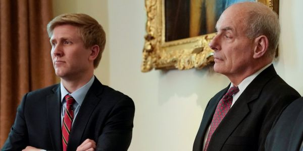 Nick Ayers will not replace White House chief of staff John Kelly as suspected