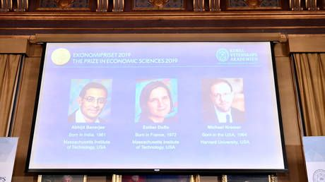Banerjee, Duflo and Kremer win 2019 Nobel Economics Prize