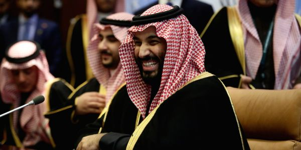 Saudi Arabia's ambitious new crown prince is reportedly hiding out on his superyacht, 'fearing for his security'