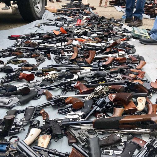 California man charged after police found more than 1,000 guns in his home