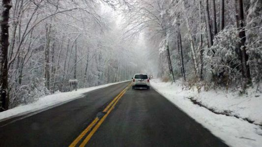 UPDATED TIMING FOR SNOW: Winter storm shaping up for WNC mountains, Upstate Thursday