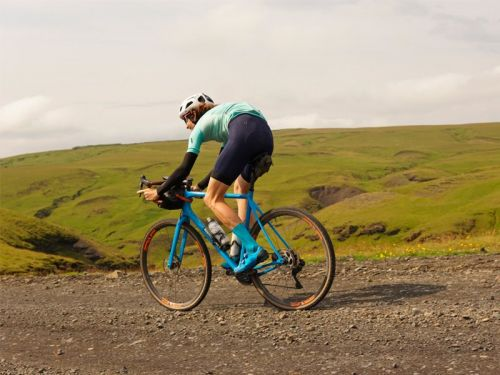 I biked over 120 miles of Icelandic volcanoes, through rain, hail, and strong headwinds, and this is the cycling gear that got me through it