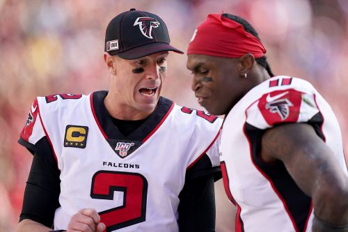 Falcons won't trade Julio Jones or Matt Ryan after cleaning house