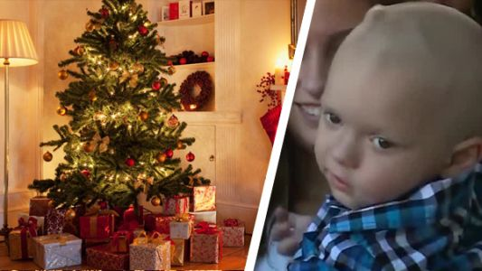 Cincinnati radio station playing Christmas music in September for 2-year-old with cancer