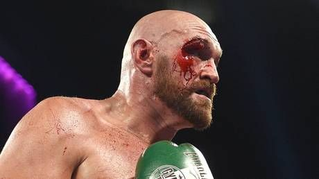 Stitched-up: Gruesome before and after pictures show extent of Fury's horror cut