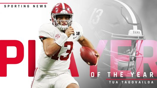 Alabama's Tua Tagovailoa is Sporting News' 2018 Player of the Year