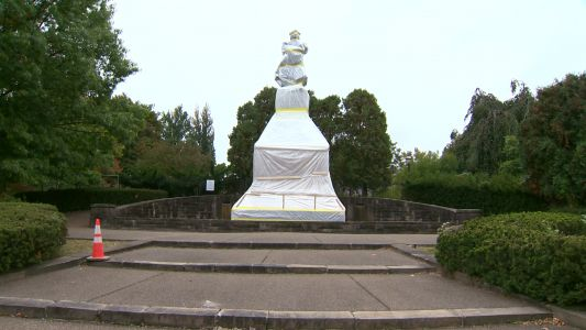 Final vote held to remove Christopher Columbus statue from Pittsburgh's Schenley Park