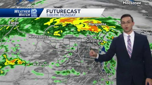 Videocast: Mild October day before more rain