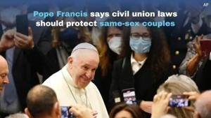 Watch Now: Pope Francis endorses civil union for gay couples