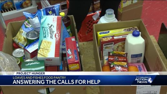 'We take care of people that fall through the cracks:' Food pantry helps families in Murrysville