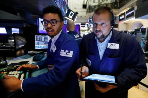 Dow rises 300 points after bruising week